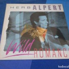 Discos de vinilo: LOH3 LP JAZZ UK 1985 MUY BUEN ESTADO HERB ALPERT WILD ROMANTINC MUY BUEN ESTADO. Lote 228662155