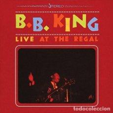 Discos de vinilo: B.B. KING LIVE AT THE REGAL LP VINILO NUEVO. Lote 228662665