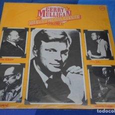 Discos de vinilo: LOH3 LP JAZZ UK MONO CIRCA 1970 GERRY MULLIGAN MEETS THE SAX GIANTS VERVE MUY BUEN ESTADO. Lote 228662735