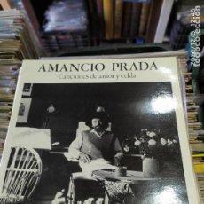 Discos de vinilo: AMANCIO PRADA CANCIONES DE AMOR Y CELDA. Lote 228662895
