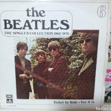 Discos de vinilo: THE BEATLES. TICKET TO RIDE. THE SINGLES COLLECTION 1962/1970. Lote 228692100