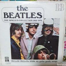 Discos de vinilo: THE BEATLES - OB LA DI OB LA DA - THE SINGLES COLLECTION 1962/1970. Lote 228696235