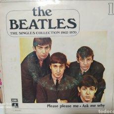 Discos de vinilo: THE BEATLES. PLEASE PLEASE ME - THE SINGLES COLLECTION 1962/1970. Lote 228700600