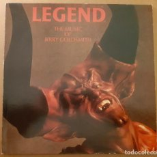 Disques de vinyle: LEGEND JERRY GOLDSMITH FILMTRAX 1985 FOX. Lote 228708230