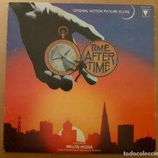 Discos de vinilo: TIME AFTER TIME (LOS PASAJEROS DEL TIEMPO) MIKLOS ROZSA ENTR´ACTE RECORDS 1979 MUY BUEN ESTADO!!. Lote 228715471