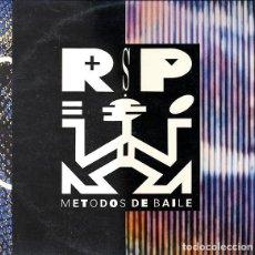 Discos de vinilo: R.S.P. - METODOS DE BAILE - LP CBS SPAIN 1990 - CONTIENE HOJAS PROMO. Lote 228723865