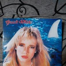 Discos de vinilo: CREAR WHITE - ONCE BITTEN. Lote 228732926