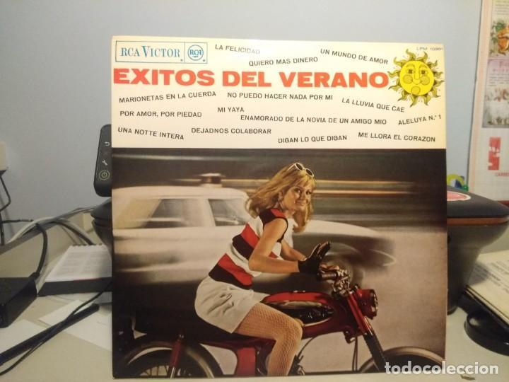 LP EXITOS DEL VERANO 1967 LOS MARTINS, LOS DIAPASONS, THE ROKES, LOS GANSOS, SYLVIE VARTAN, AUTE (Música - Discos - LP Vinilo - Grupos Españoles 50 y 60)