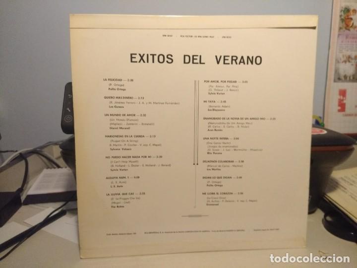Discos de vinilo: LP EXITOS DEL VERANO 1967 LOS MARTINS, LOS DIAPASONS, THE ROKES, LOS GANSOS, SYLVIE VARTAN, AUTE - Foto 2 - 228739775
