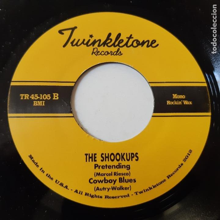 Discos de vinilo: THE SHOOUKPS- NO LIE - USA EP 2012- ROCKABILLY - VINILO COMO NUEVO. - Foto 2 - 228748905