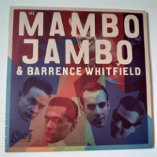 Disques de vinyle: LOS MAMBO JAMBO & BARRENCE WHITFIELD- SPAIN SINGLE 2014 - ROCKABILLY - VINILO COMO NUEVO.. Lote 228756890