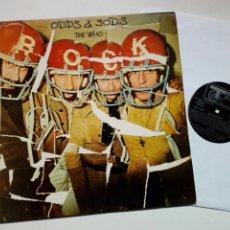 Discos de vinilo: LP: THE WHO - ODDS & SODS (TRACK, 1975) - RECOPILACIÓN CANCIONES Y RAREZAS, INÉDITAS HASTA 1974 -. Lote 228758865