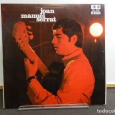 Disques de vinyle: DISCO VINILO LP. JOAN MANUEL SERRAT - ARA QUE TINC VINT ANYS. EDICIÓN ESPAÑOLA. 33 RPM.. Lote 228792478