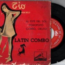 Discos de vinilo: LATIN COMBO : MI TIO - MON ONCLE, DE JACQUES TATI (LA VOZ DE SU AMO, 1958). Lote 228805095