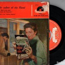 Discos de vinilo: HELMUT ZACHARIAS : EL PUENTE SOBRE EL RIO KWAI (POLYDOR, 1958). Lote 228805540