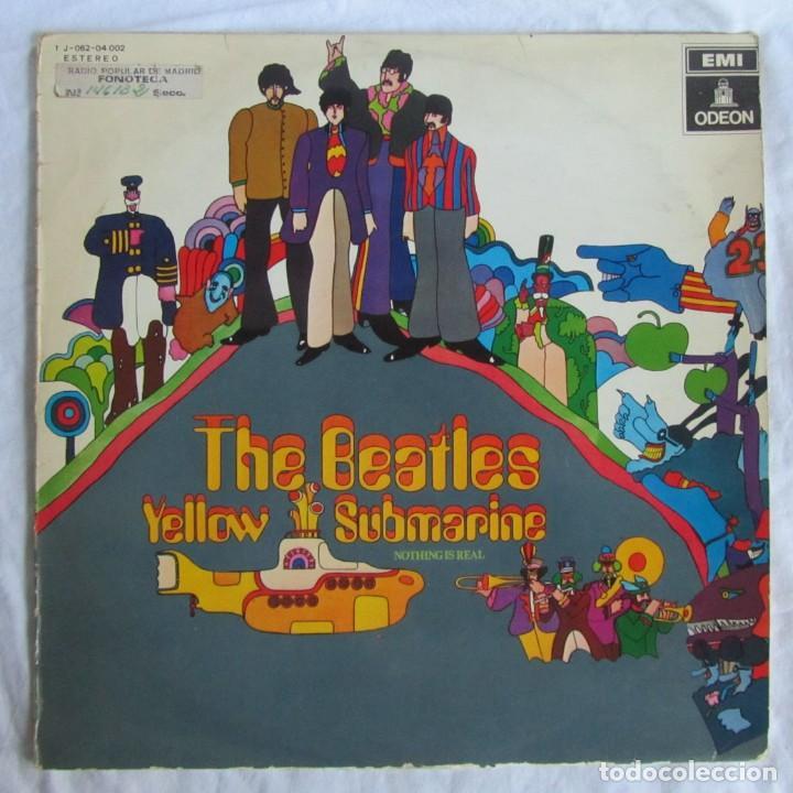 LP VINILO THE BEATLES YELLOW SUBMARINE 1969 (Música - Discos - LP Vinilo - Pop - Rock Internacional de los 50 y 60)