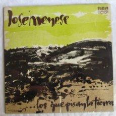 Discos de vinilo: DOBLE LP VINILO JOSÉ MENESES LOS QUE PISAN LA TIERRA 1974. Lote 228813420