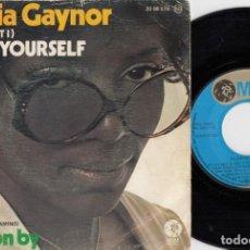 Discos de vinil: GLORIA GAYNOR - DO IT YOURSELF - SINGLE DE VINILO. Lote 228854285