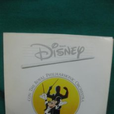 Discos de vinilo: MAGIC DISNEY CON THE ROYAL PHILHARMONIC ORCHESTRA. LP GRABACION DIGITAL.. Lote 228872797