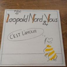 Discos de vinilo: LEOPOLD NORD & VOUS / C´EST L´AMOUR. Lote 228877065