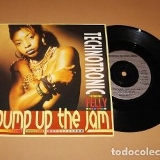Discos de vinilo: TECHNOTRONIC - PUMP UP THE JAM - SINGLE - 1989. Lote 228900085