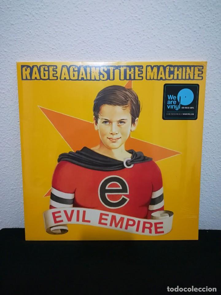 VINILO RAGE AGAINST THE MACHINE - EVIL EMPIRE, RE 180, NUEVO PRECINTADO (Música - Discos - LP Vinilo - Punk - Hard Core)