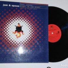 Dischi in vinile: ANTIGUO VINILO / OLD VINYL: JAM & SPOON FEAT PLAVKA : RIGHT IN THE NIGHT (MAXI SINGLE 1993). Lote 228936630