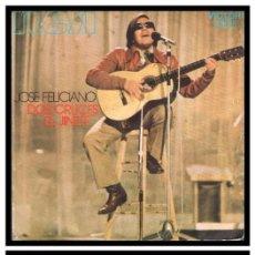 Discos de vinil: XX SINGLE, JOSE FELICIANO, DOS CRUCES Y YL JINETE.. Lote 228954400