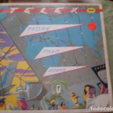 Disques de vinyle: TELEX MORE THAN DISTANCE. Lote 228969345