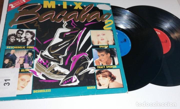 ANTIGUO VINILO / OLD VINYL: BACALO MIX 2 (DOBLE LP 1987) (Música - Discos - LP Vinilo - Disco y Dance)