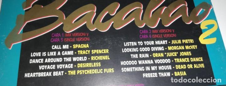 Discos de vinilo: ANTIGUO VINILO / OLD VINYL: BACALO MIX 2 (DOBLE LP 1987) - Foto 2 - 228971380