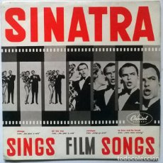 Discos de vinilo: FRANK SINATRA. SINGS FILM SONGS. MONIQUE/ TO LOVE & BE LOVED/ CHICAGO/ ALL THE WAY. CAPITOL, HOLLAND. Lote 228979700