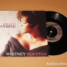 Discos de vinilo: WHITNEY HOUSTON - I HAVE NOTHING - SINGLE - 1992. Lote 228980520