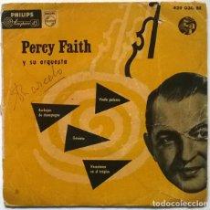 Discos de vinilo: PERCY FAITH. BURBUJAS DE CHAMPAGNE/ VUELA PALOMA/ GAVIOTA/ VACACIONES EN EL TRÓPICO. PHILIPS 1958 EP. Lote 228981970