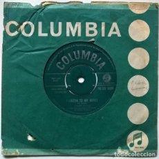 Discos de vinilo: FRANK IFIELD. I LISTEN TO MY HEART/ I REMEMBER YOU. COLUMBIA, UK 1962 SINGLE. Lote 228983553