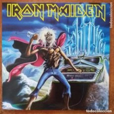Disques de vinyle: IRON MAIDEN - RUN TO THE HILLS (LIVE) (SG) 2014. Lote 228984075