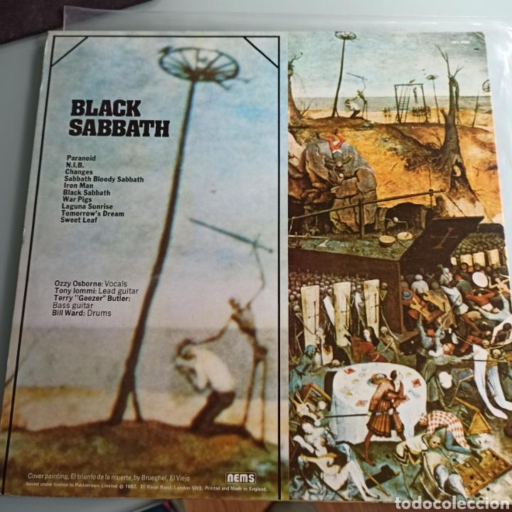 Discos de vinilo: Black Sabbath - Greatest Hits (NEMS - NEL 6009, UK, 1977) - Foto 2 - 229055350