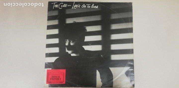 S12-THE CURE - LET'S GO TO BED 1982 SPAIN LP VINILO PORT G DISCO G+ (Música - Discos - LP Vinilo - Otros estilos)