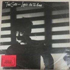 Disques de vinyle: S12-THE CURE - LET'S GO TO BED 1982 SPAIN LP VINILO PORT G DISCO G+. Lote 229069115