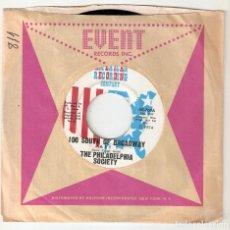 "Discos de vinilo: THE PHILADELPHIA SOCIETY 7"" USA IMPORTACION 45 SOUTH OF BRADWAY 1974 SINGLE VINILO FUNK SOUL R&B VER. Lote 229089030"