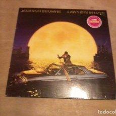Discos de vinilo: JACKSON BROWN LP LAWERS IN LOVE ESP. 1983. Lote 229096580