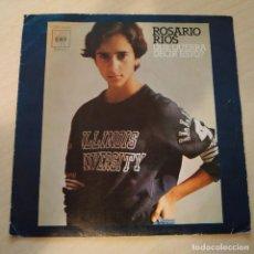 Discos de vinilo: ROSARIO RIOS (PRIMER DISCO DE ROSARIO FLORES) - QUE QUERRA DECIR ESTO? SINGLE CBS 1976 VG+. Lote 229098000