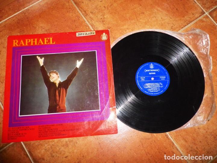 RAPHAEL AL PONERSE EL SOL EUROVISON ESPAÑA LP VINILO DEL AÑO 1967 CONTIENE 12 TEMAS MANUEL ALEJANDRO (Música - Discos - LP Vinilo - Festival de Eurovisión)