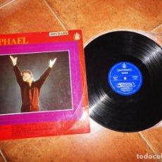 Discos de vinilo: RAPHAEL AL PONERSE EL SOL EUROVISON ESPAÑA LP VINILO DEL AÑO 1967 CONTIENE 12 TEMAS MANUEL ALEJANDRO. Lote 229098910