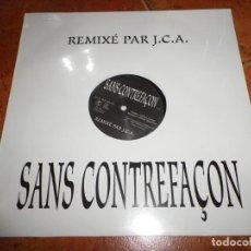 Discos de vinilo: MYLENE FARMER SANS CONTREFAÇON REMIXÉ PAR J.C.A. MAXI SINGLE VINILO PRECINTADO 2003 1 TEMA. Lote 229104630