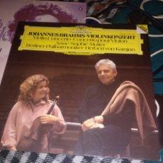 Discos de vinilo: BRAHMS ANN SOPHIE MUTTER. Lote 229106780