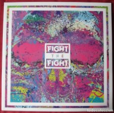 Discos de vinilo: FIGHT THE FIGHT - FIGHT THE FIGHT - LP VINILO. NUEVO. PRECINTADO. VINILO COLOR SPLATTER.. Lote 229108545