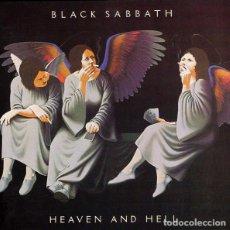 Discos de vinilo: BLACK SABBATH – HEAVEN AND HELL -LP-. Lote 245630845