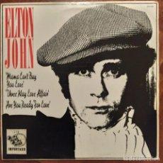 """Discos de vinilo: ELTON JOHN - THE THOM BELL SESSIONS '77 (12"""", MINI ALBUM) (1977/US). Lote 229163940"""