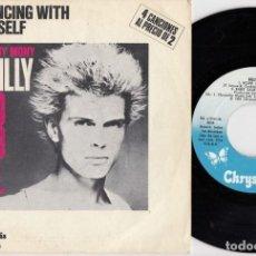 Discos de vinilo: BILLY IDOL - DANCING WITH MYSELF - CONTIENE 4 CANCIONES - SINGLE DE VINILO. Lote 257302455